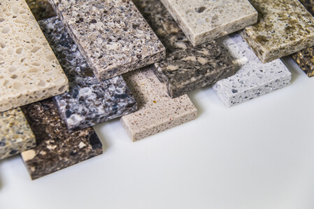 Composite Stone Counter Top Samples