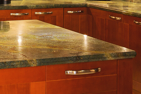 Green Marble Countertop